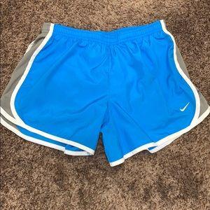 Blue tempo Dri-Fit Nike Shorts